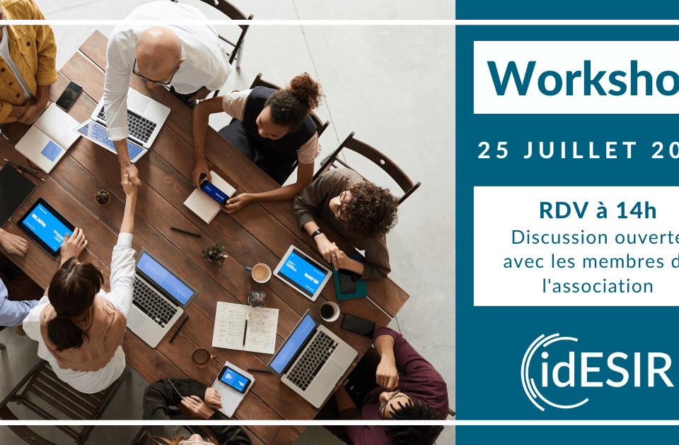Workshop de juillet de IDESIR